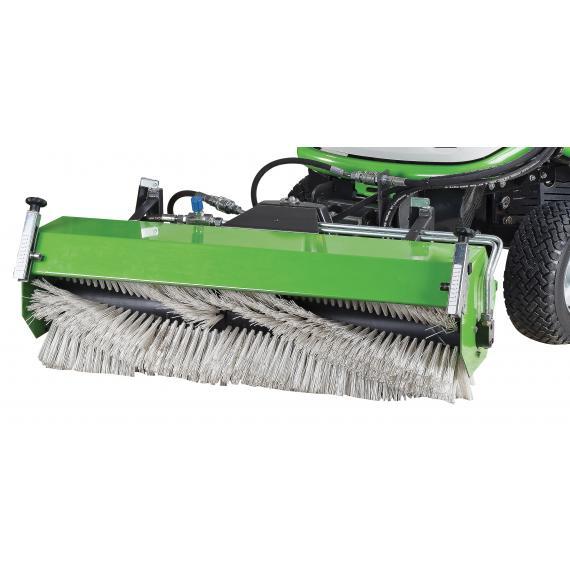 Balayeuse avec relevage et inclinaison hydrauliques r f mt103 etesia - Ramasse herbe pour tracteur tondeuse ...