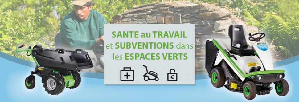 Sante Au Travail Et Subventions Dans Les Espaces Verts Etesia