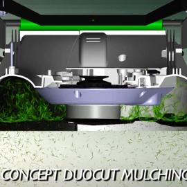 concept duocut mulching